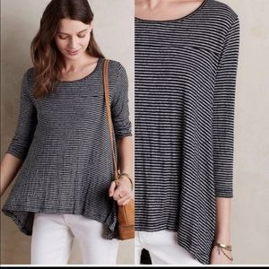 Anthropologie Postmark soft knit swing top